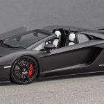 One Lamborghini Aventador S Roadster S Presso Black Please Carscoops