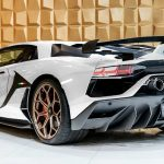 White And Gold Lamborghini Aventador Svj Is Screaming To Be Adopted Carscoops