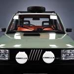 Garage Italia Customs Electrifies Classic Fiat Panda 4x4 Gives It New Looks Too Carscoops