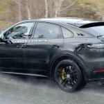 Hear The 2021 Porsche Cayenne Coupe Gt S Thunderous V8 Growl Carscoops