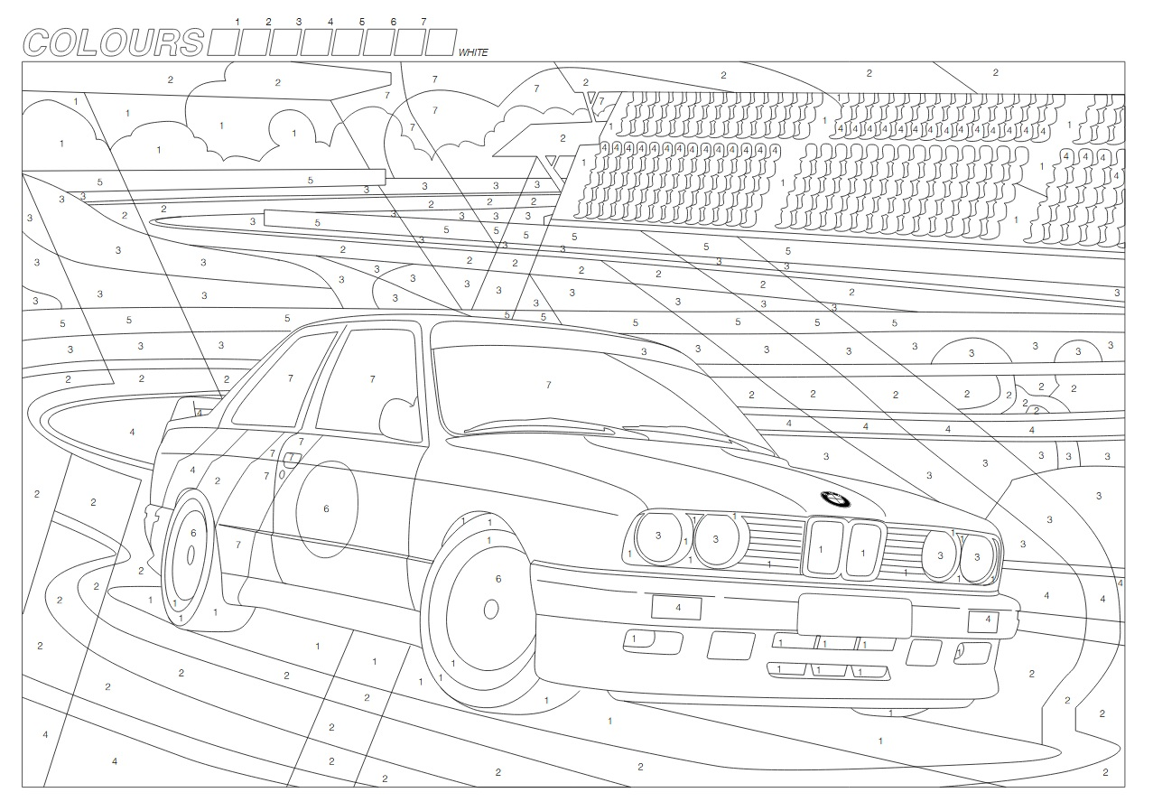 BMW releases COVID-19 coloring pages and games