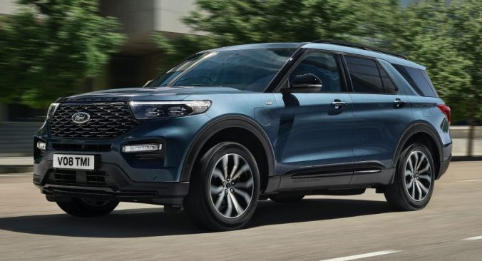 2020 Ford Explorer PHEV