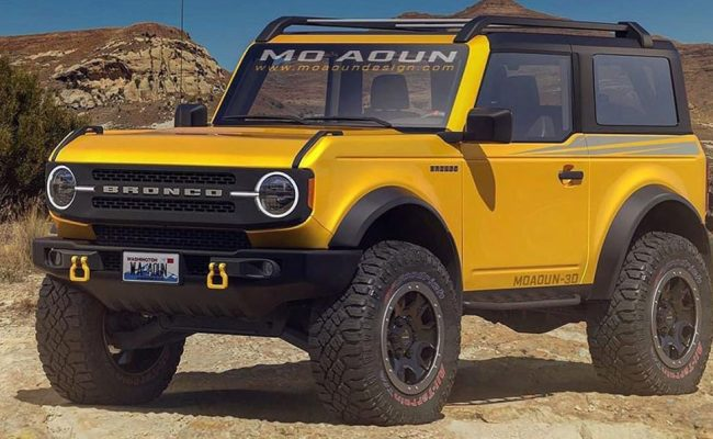 Do These Final 2021 Ford Bronco Renderings Make You