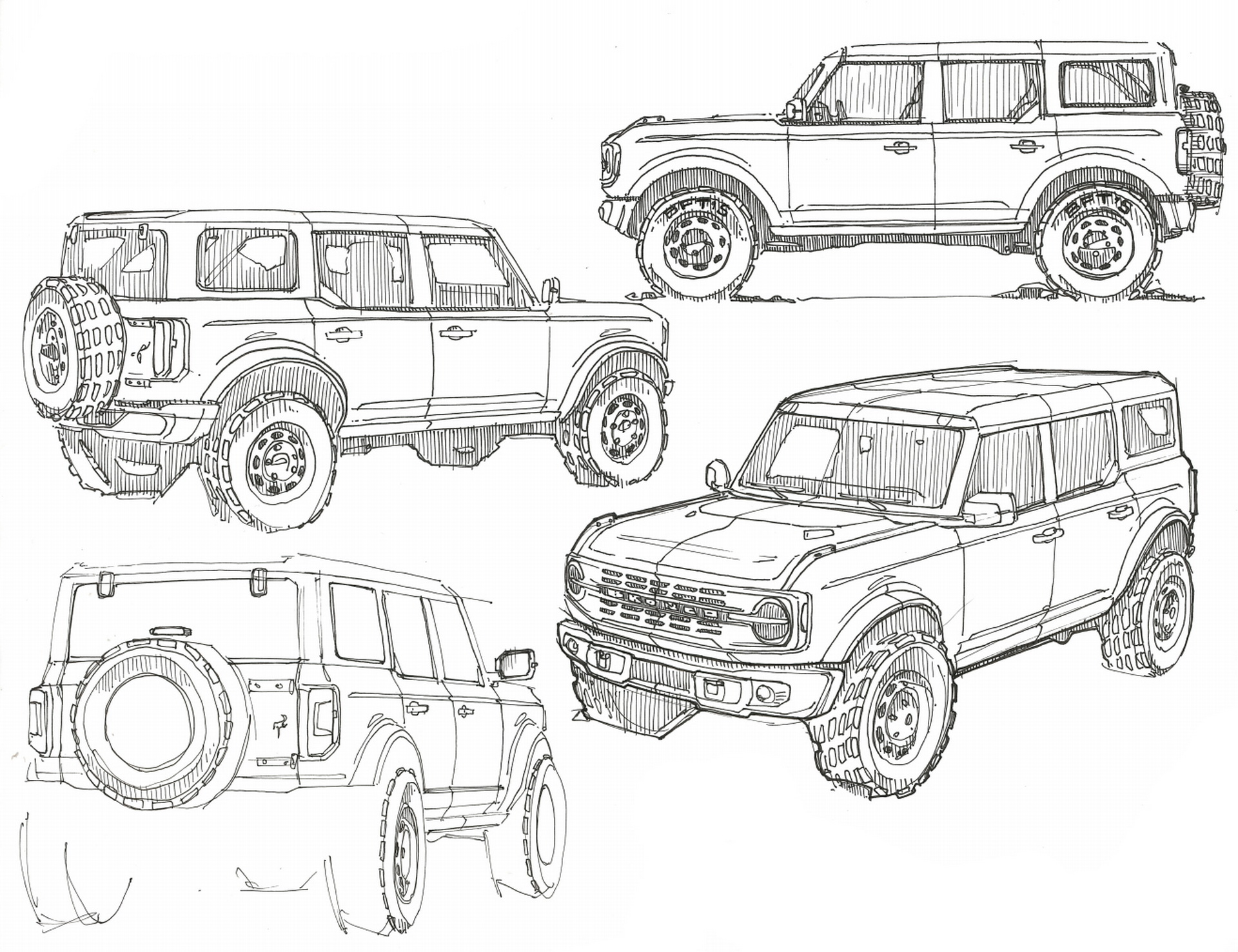 Ford Bronco Truck In The Works, Could Arrive As Early As