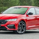 All New Skoda Octavia Rs Adds 242 Hp Petrol 197 Hp Diesel Powertrains Carscoops