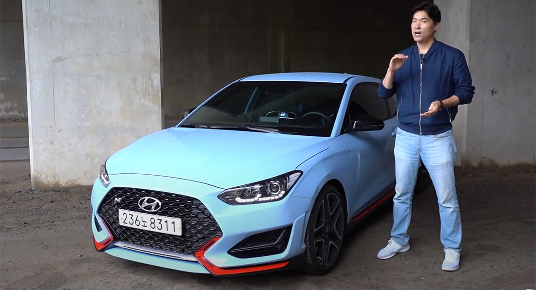 2021 hyundai veloster n with its dct