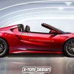 Acura Honda Nsx Getting Type R And Spider Versions Next Year Carscoops