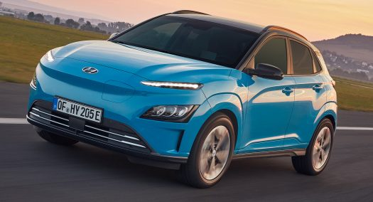 Hyundai Kona Electric Facelifted For The 2021 Model Year ...