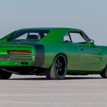 This 1969 Dodge Charger Body Was Grafted On Top Of A 2016 Challenger Srt Hellcat Carscoops