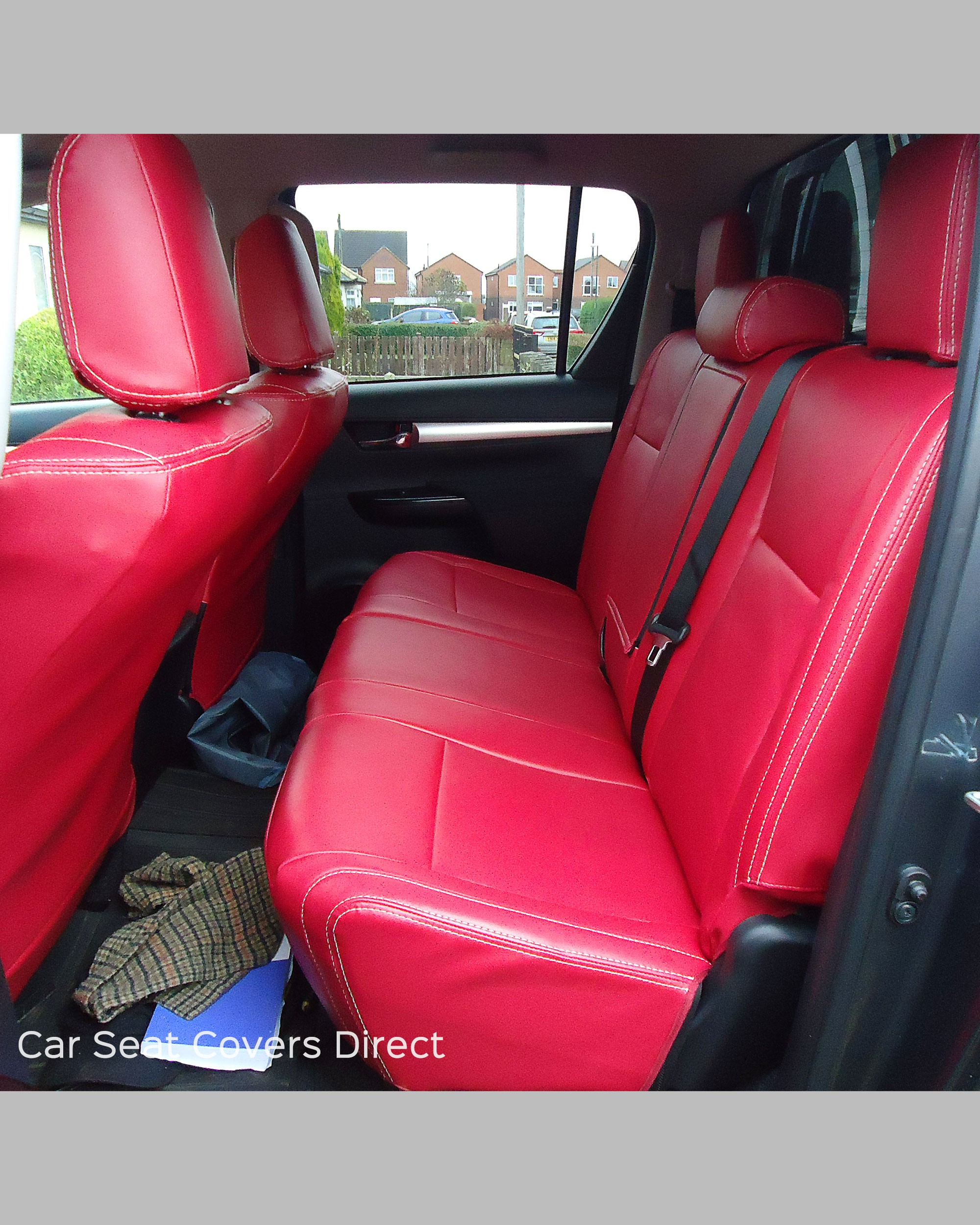 Toyota Hilux Tailored Seat Covers