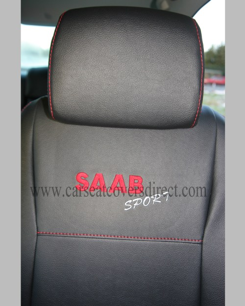 small resolution of custom saab 9 3 seat covers more images click to view