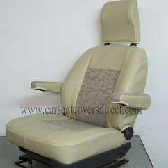 Rv Captain Chairs Seat Covers Dining Table With And Bench Custom Fiat Ducato Camper Tailored