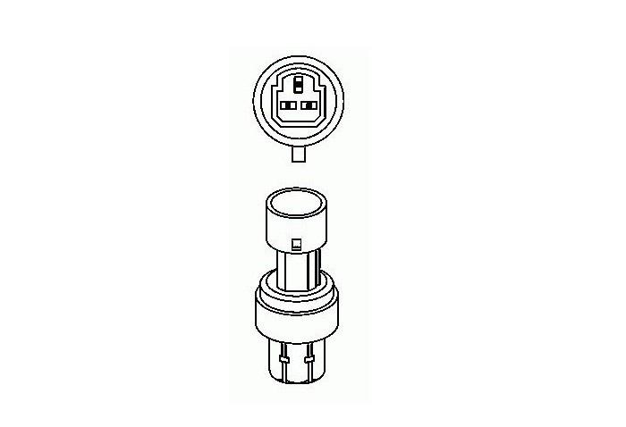 Pressostat climatisation FIAT CROMA 12799379