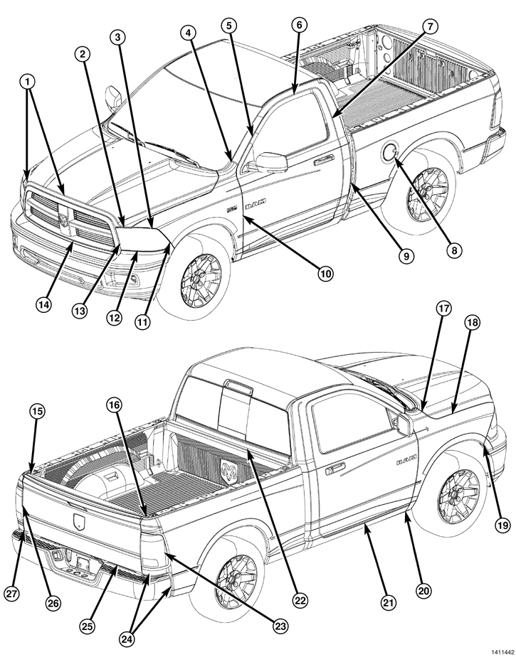 Dodge Repair Diagrams, Dodge, Free Engine Image For User
