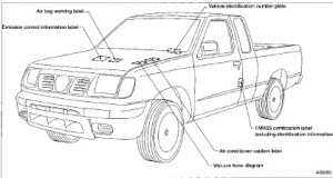 Nissan Frontier D22 2001 Factory Repair Manual Service