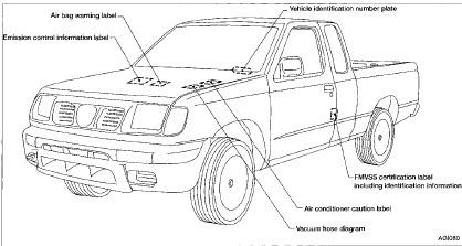 2000 2001 2002 2003 Nissan Frontier Workshop Service