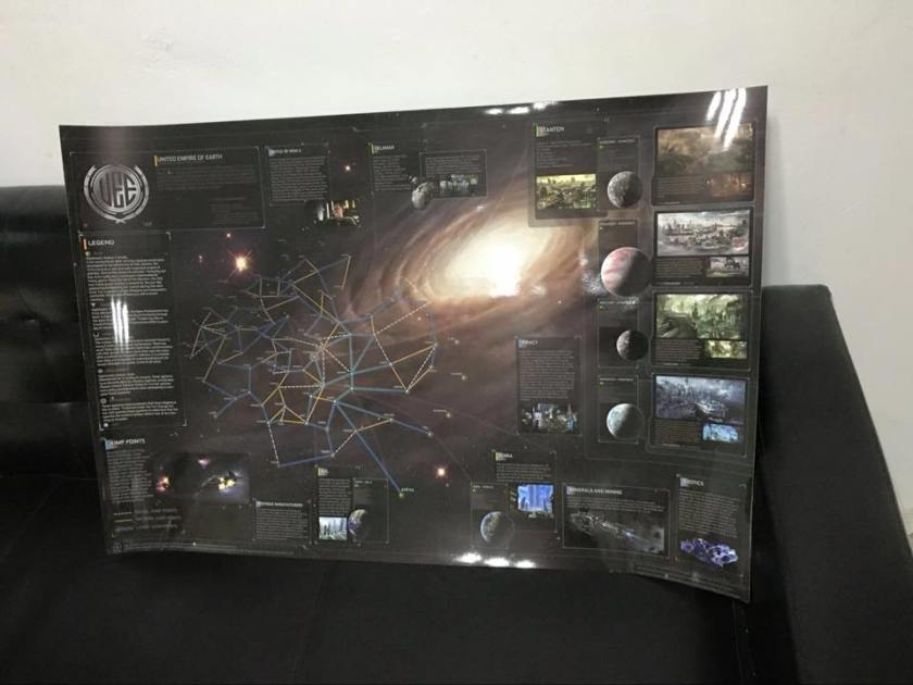 Star Map - Karte des Universums von Star Citizen