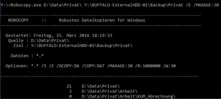 Backup mit Bordmitteln unter Windows 10