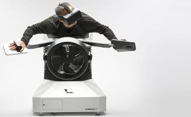 Birdly: Wie ein Vogel fliegen – dank Virtual-Reality Device