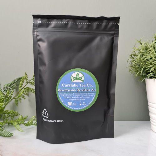 Decaffeinated Breakfast Tea - Carslake Tea Company