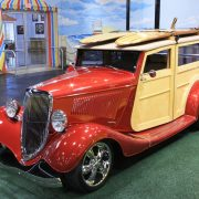 1934 Ford Custom Woody Wagon