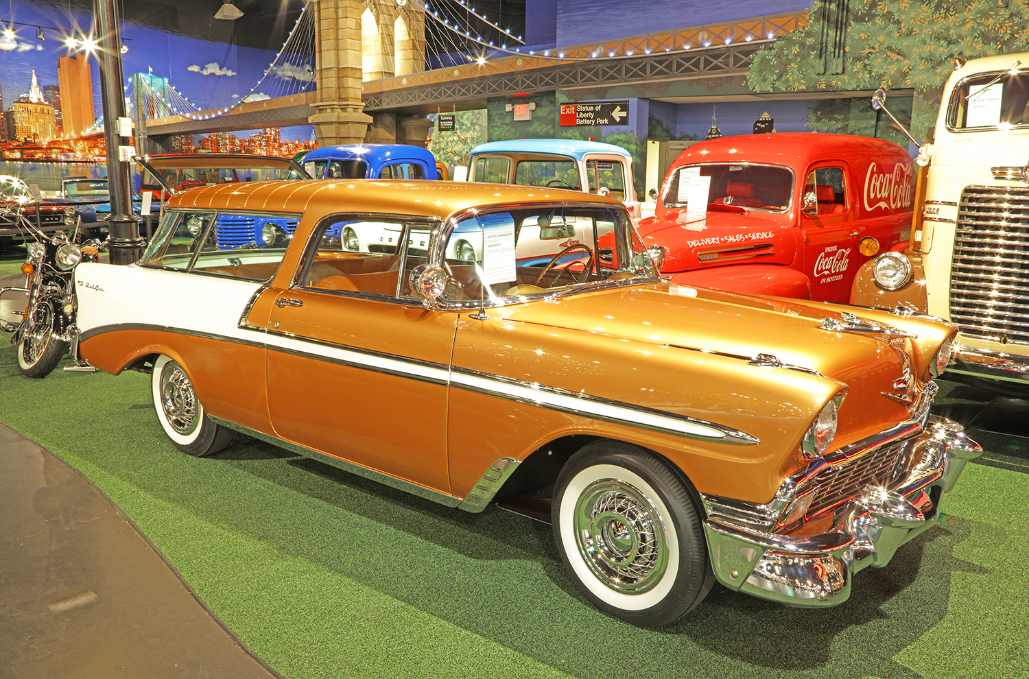 1956 Chevrolet Nomad Wagon Welcome To Cars Of Dreams Museum 1957 Chevy
