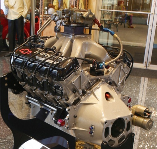 Past Collection - NASCAR Engine - Chevrolet R07 built by