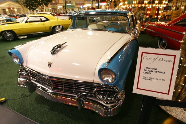 Past Collection - 1956 Ford Crown Victoria Coupe - Welcome to Cars