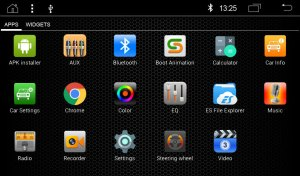 """RADICAL R-C10SK1 Skoda Infotainment Android T8 """"ohne Kartenmaterial"""""""