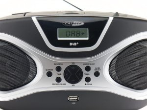 Caliber HBC431DAB-BT - Portabler DAB+ FM-Radio mit CD, Bluetooth, USB, Aux-In
