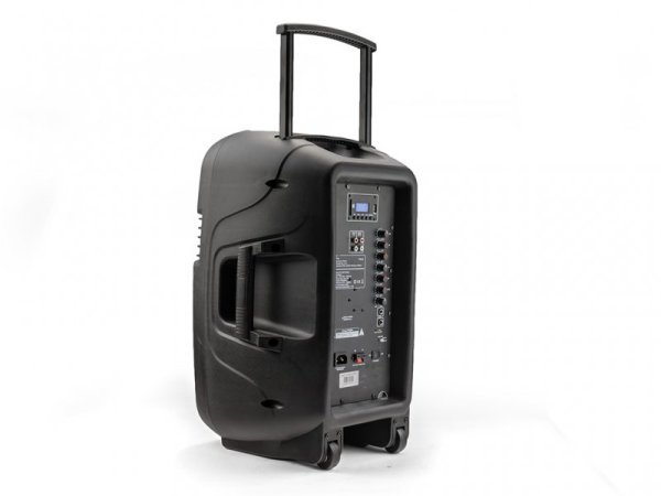 "Caliber HPA603BT - 12"" Aktiv-Trolleylautsprecher mit Akku, Bluetooth, USB"