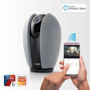 Smarthome Caliber HWC201PT IP-KAMERA 1080P HD INDOOR WIFI, APP gesteuert, Tuya
