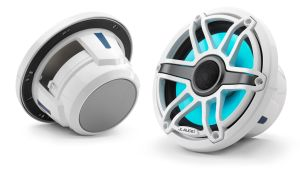 JL-Audio M6-770x-S-GwGw-i - 19,50cm Marina Speaker LED