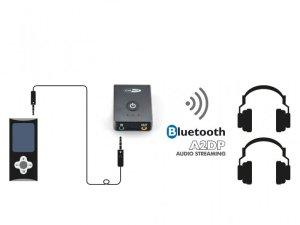 CALIBER PMR206 Bluetooth Receiver / Transmitter auf Aux