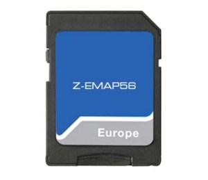 Zenec Z-EMAP56 - Z-xxx56 Prime 16 GB SD-Karte EU-Karte für PKW