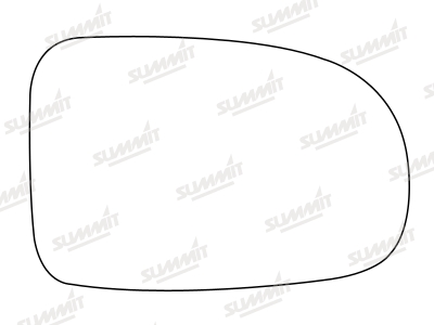 Vauxhall Corsa C 2000-2003 Driver Side Wing Mirror Glass