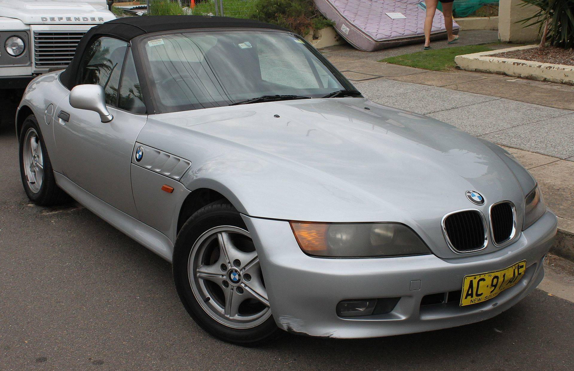 hight resolution of  bmw z3 convertible