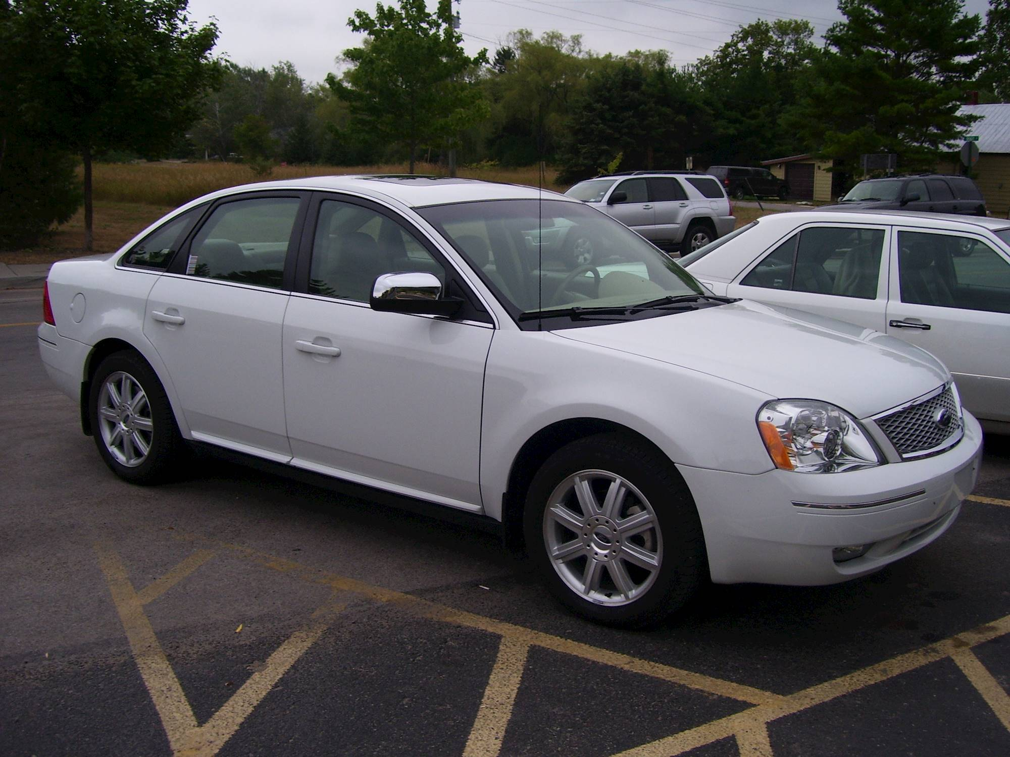 hight resolution of 2006 ford five hundred antenna