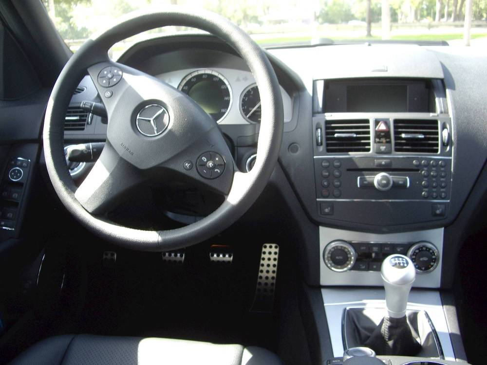 medium resolution of 2010 mercedes benz c300 sport 4dr rear wheel drive sedan 6 spd manual w od