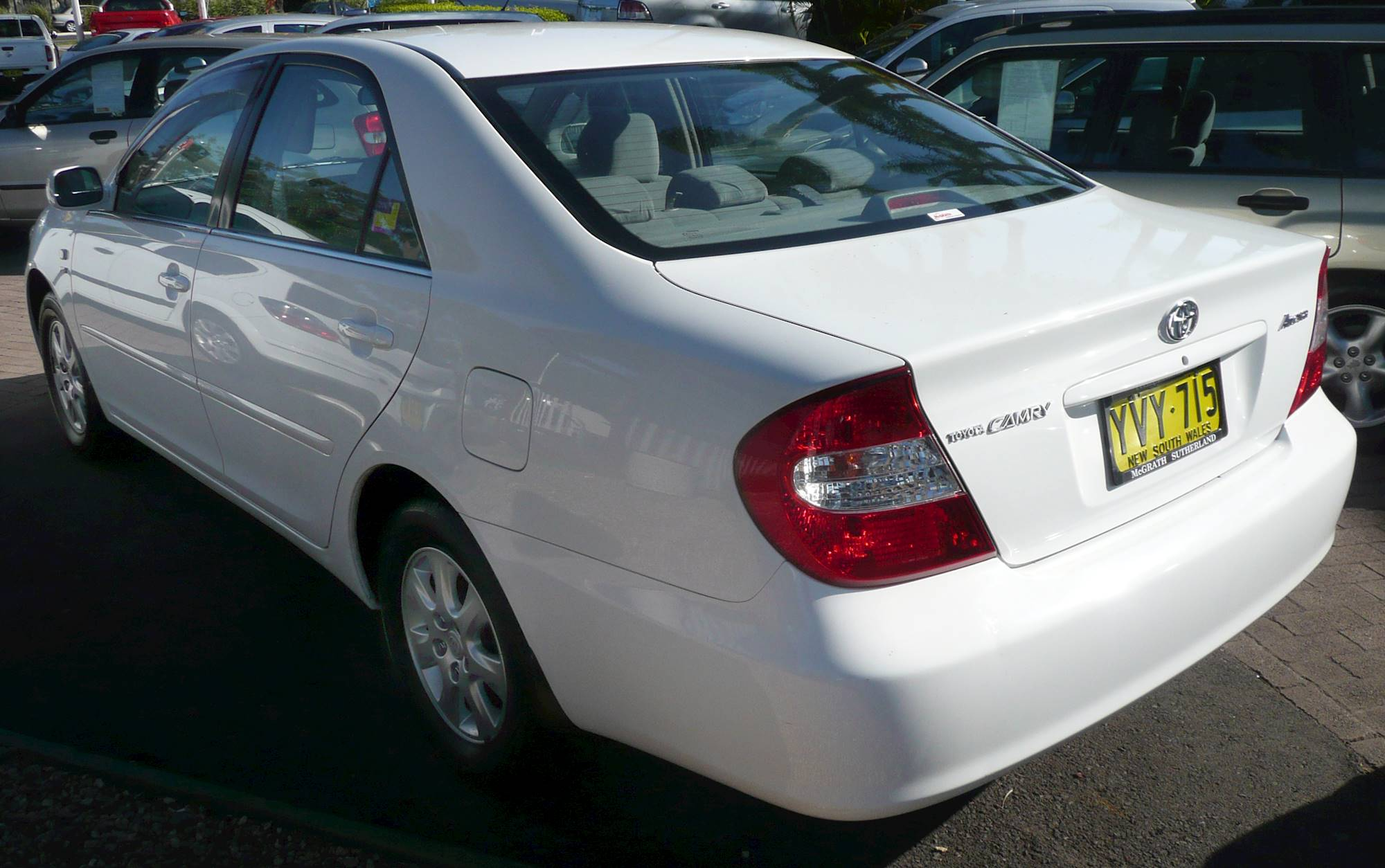 Manual Camry Toyota 2003 Mpg