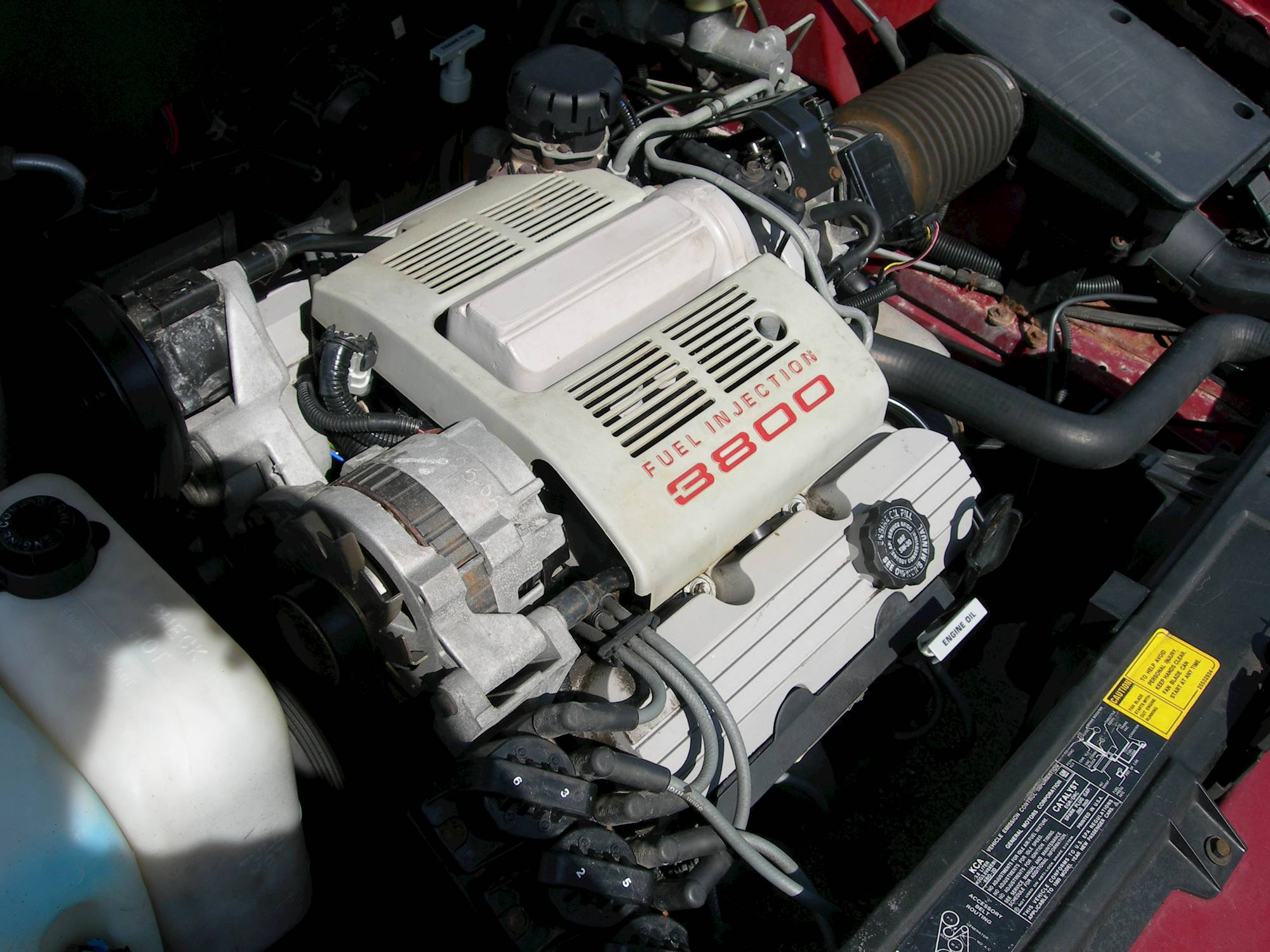 hight resolution of 2003 pontiac bonneville ssei sedan 3 8l v6 supercharger auto 2003 dodge intrepid engine diagram