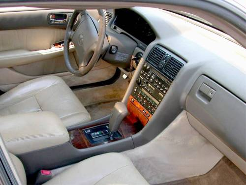 small resolution of  1992 lexus ls400 interior