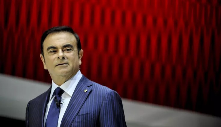 TOKYO, JAPAN - NOVEMBER 20: Nissan Motor President Carlos Ghosn speaks during the press briefing at the Tokyo Motor Show 2013 at Tokyo Big Sight in Tokyo on November 20, 2013. The 43rd Tokyo Motor Show 2013 will be open to public from November 22 to December 1st, 2013. (Photo by Keith Tsuji/Getty Images)
