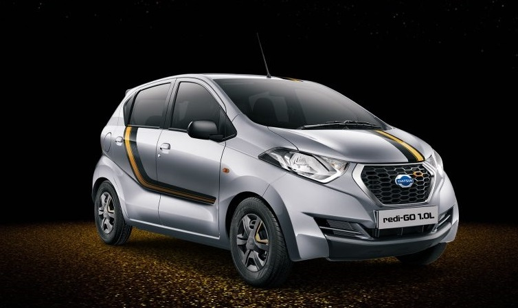 Datsun Redi-GO Gold launched in India at INR 3.69 lac ...