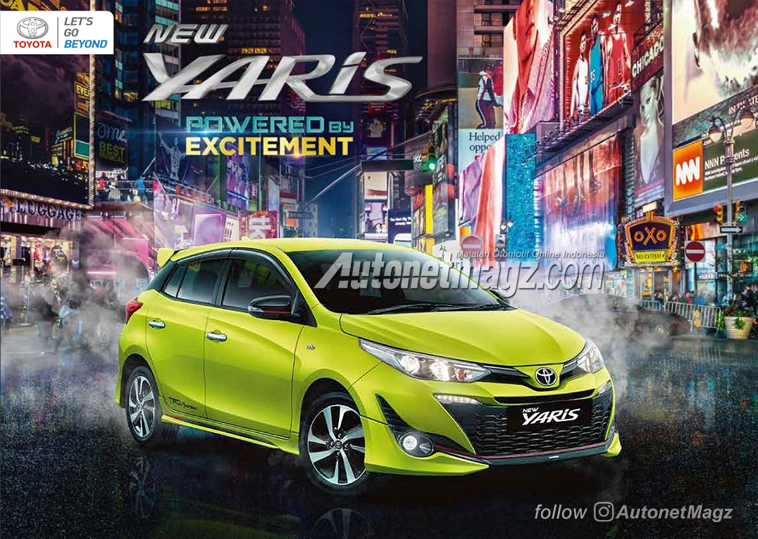 toyota yaris trd sportivo manual grand new avanza 2019 harga 2018 brochure leaked carspiritpk