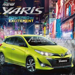 Toyota Yaris Trd Sportivo 2018 Indonesia Interior Grand New Avanza Veloz 1.5 Brochure Leaked Carspiritpk