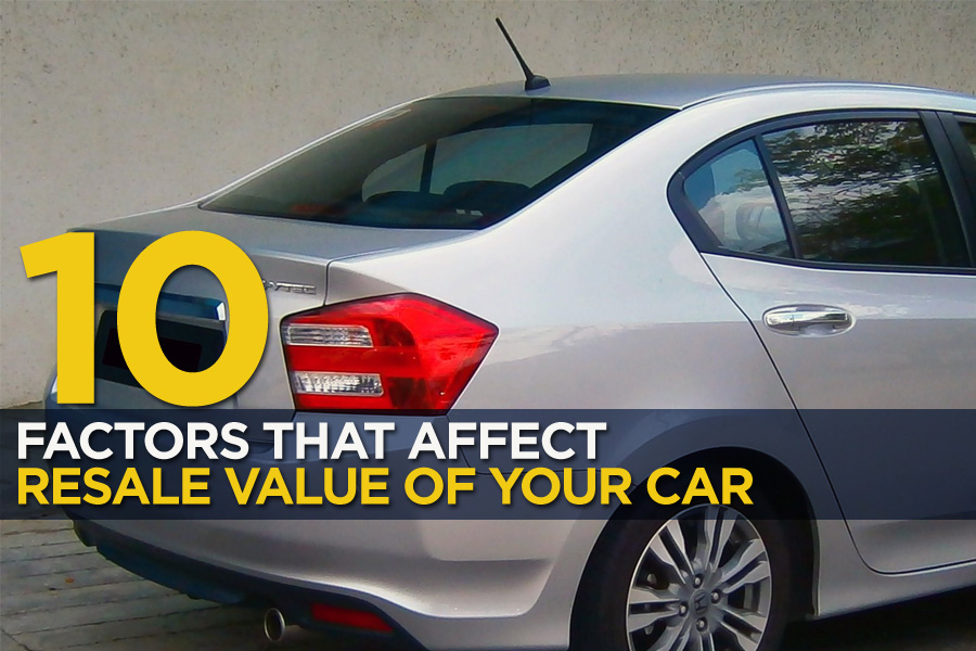 10 Factors that Affect the Resale Value of Your Car
