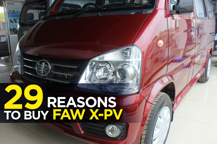29 Reasons to Buy FAW X-PV