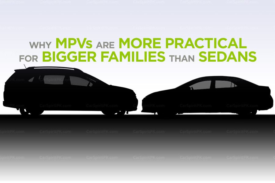 Why MPVs are More Practical for Bigger Families than Sedans?