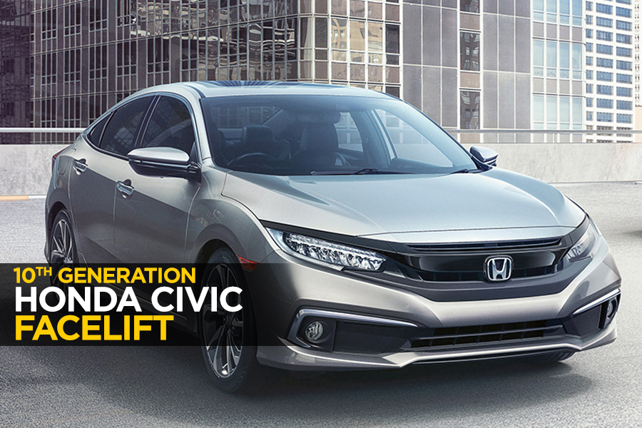 10th Gen Honda Civic Receives a Facelift